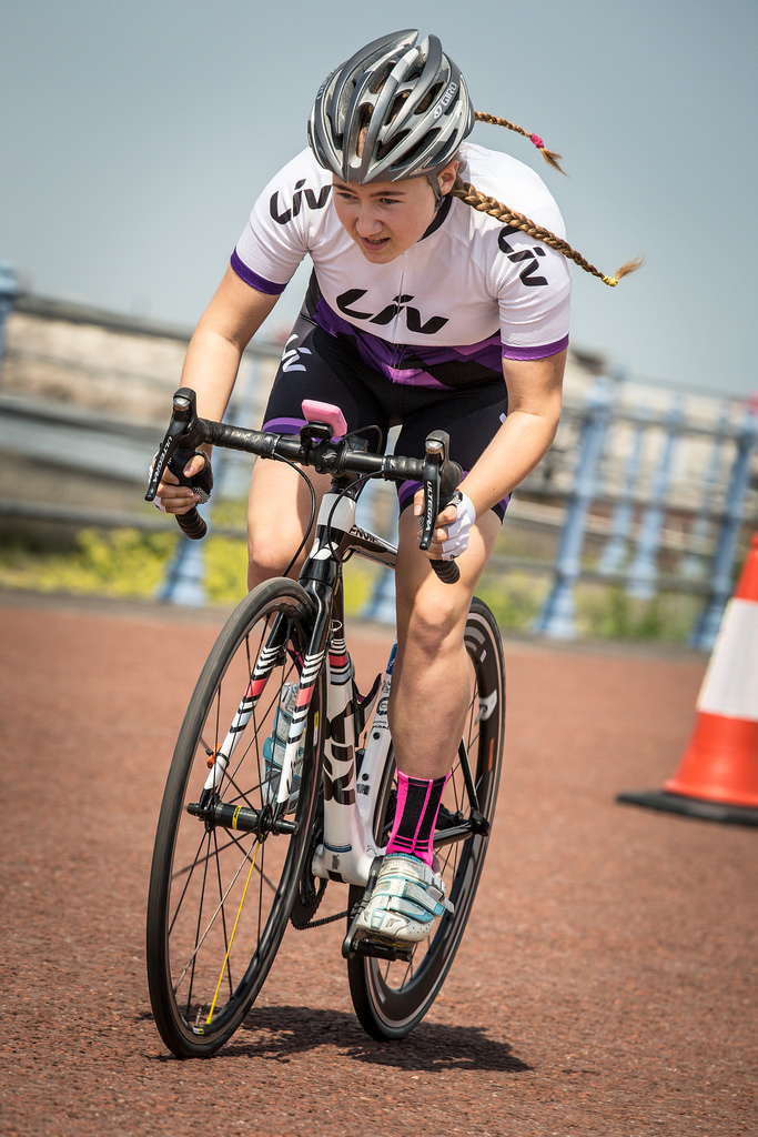 Connie Hayes time trial NW Tour