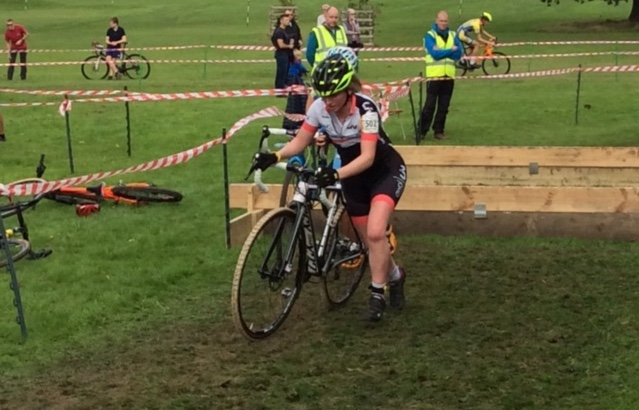 Sarah Lomas 1st U23 at Forme Notts & Derby League (photo: Lomas)