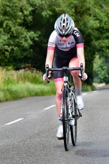 Hannah Graveney - Diss CC Summer Road Race 2017 (photo: John Orbea)