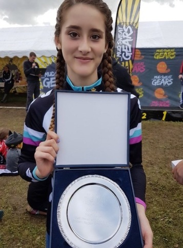 Overall Series Winner at Mud Sweat & Gears for Lauren Higham (photo: Rachel Higham)