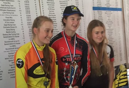 National TT Championships - Connie Hayes 3rd