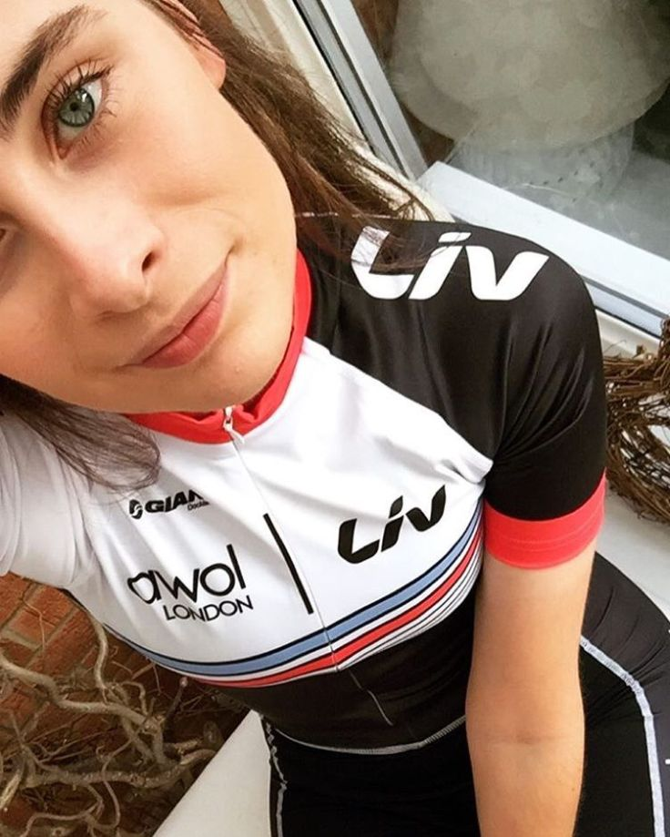 Charlotte Broughton sporting new team kit (photo: Charlotte Broughton)