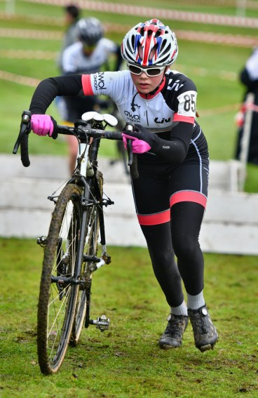 Iona Moir at E&SE CX Regional Championships (photo: John Orbea)
