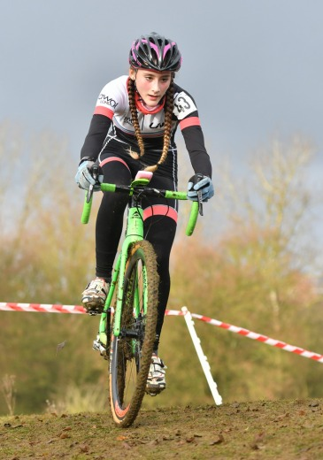 Lauren Higham at E&SE CX Regional Championships (photo: John Orbea)
