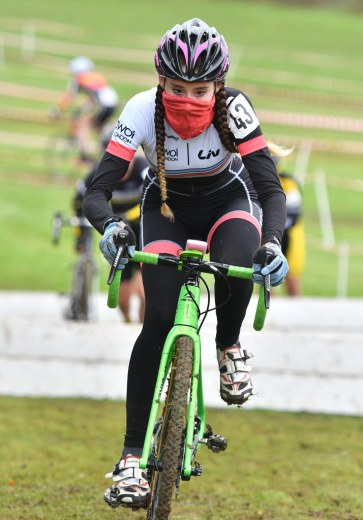 Ninja Lauren Higham at E&SE CX Regional Championships (photo: John Orbea)