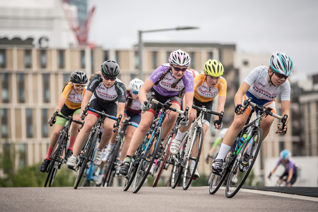 Charlotte McGreevy - 7th at Ride London Grand Prix (photo: Huw Williams)