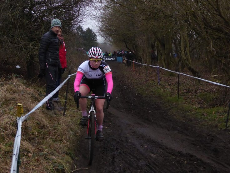 Connie Hayes at National Championships at Hetton (photo: Pat Hayes)