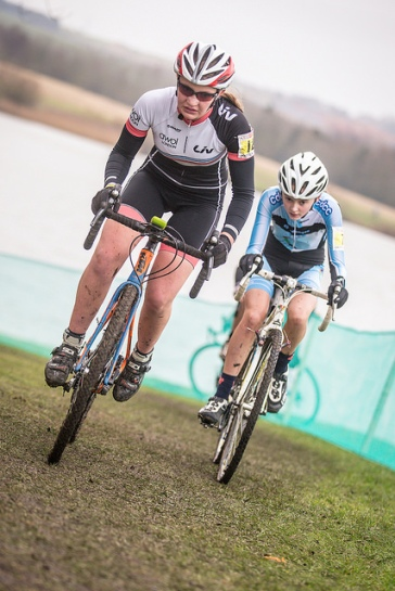 Charlotte McGreevy at Cross Nationals (photo: Huw Williams)