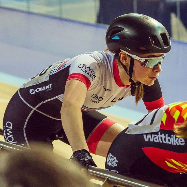 Charlotte Broughton National Omnium Championships 2018 (photo: Bob McGregor)