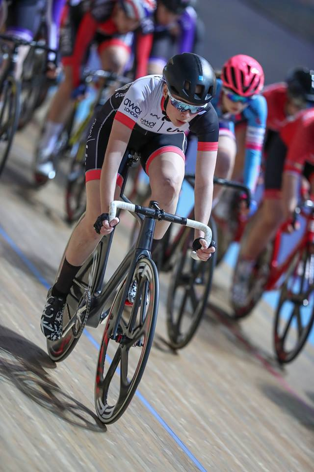 Charlotte Broughton National Omnium Championships 2018 (photo: RJB Photography)