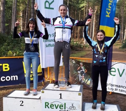 Harley Pell win at Kings Lynn MTB (photo: Pells)