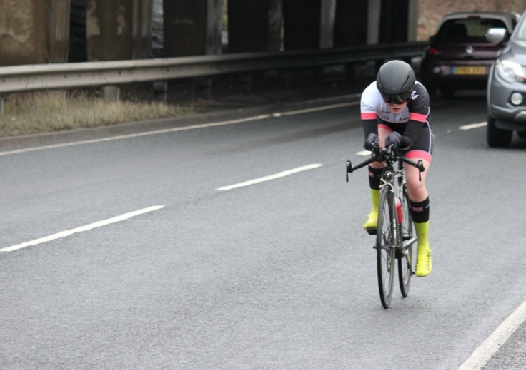 Elizabeth Marvelly at Hainault Hilly TT