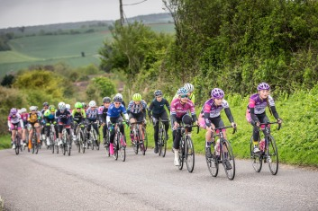 Clover M and Elizabeth M - CC London Womens Road Race (photo: Huw WIlliams)