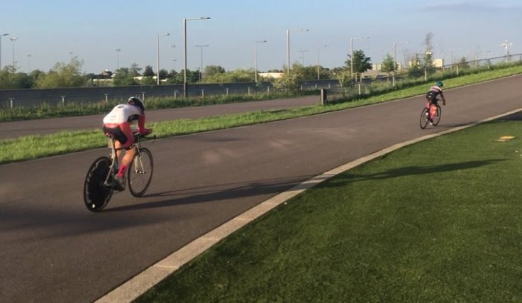 Connie Hayes - Midweek 10 mile TT Lee Valley Velopark