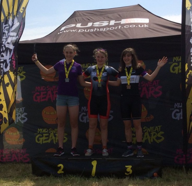 Harley Pell and Charlotte McGreevy - MSG round 5 and MTB Regional Championships