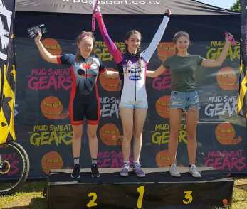 Lauren Higham Junior winner - MSG 2018 - R4 Phoenix Bike Park (photo: HIgham)