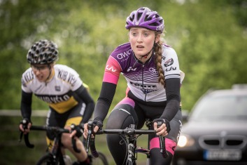 Elizabeth Marvelly - CC London Womens Road Race (photo: Huw WIlliams)