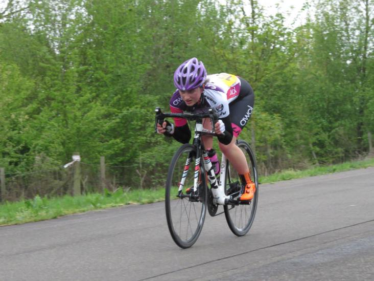 Rosie Wallace - Monument Spring Crits 2018 (photo: Phil Moir)