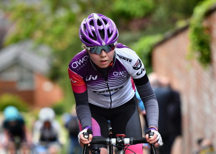 Zoe Brookes on Michaelgate - Lincoln GP 2018 (photo: John Orbea)