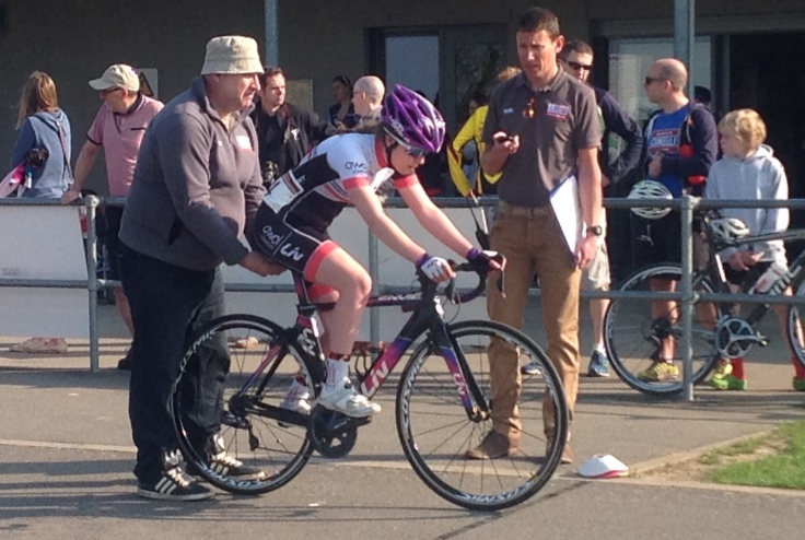 Zoe Brookes Time Trial - Junior Women's Giro 2018 (photo: Pip Brookes)