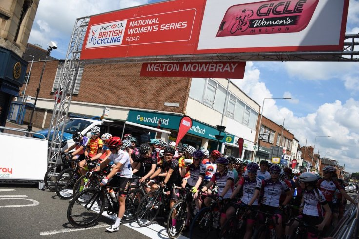 Admiral Liv AWOL start line - CiCLE Classic 2018 (photo: John Scale)