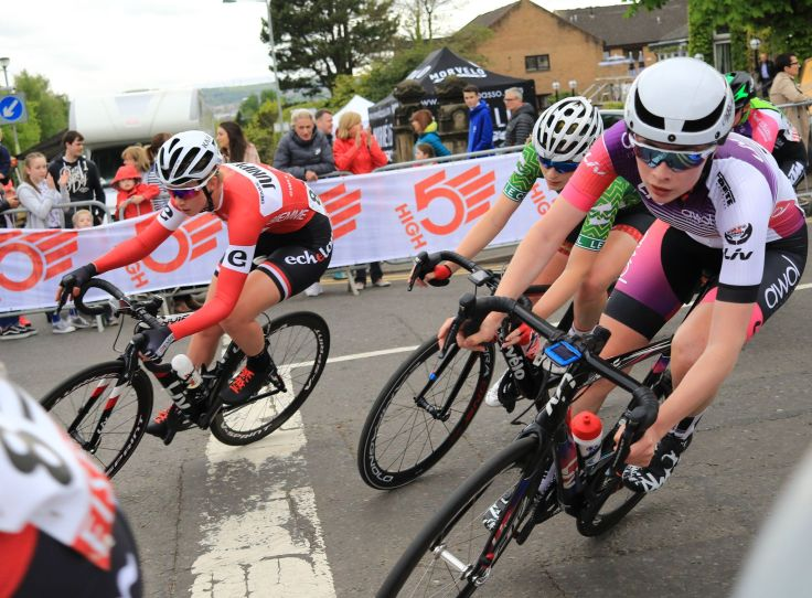 Charlotte Broughton - OVO Energy Tour Series 2018 Motherwell (photo: Chris Kelly)
