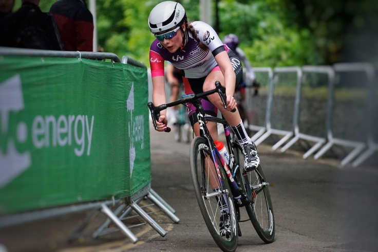Charlotte Broughton - OVO Energy Tour Series 2018 Durham (photo: Jami Blythe)