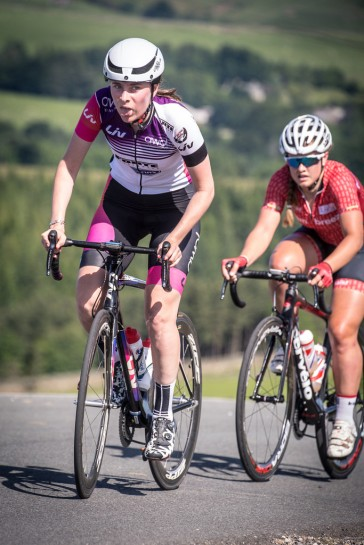Charlotte Broughton - Tour of the Reservoir 2018 (photo: Huw Williams)