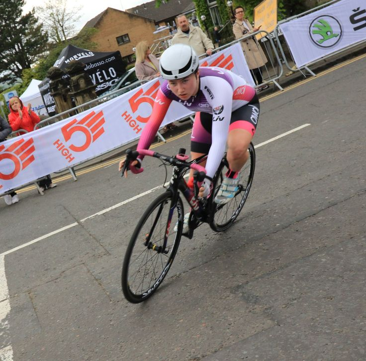 Connie Hayes - OVO Energy Tour Series 2018 Motherwell (photo: Chris Kelly)