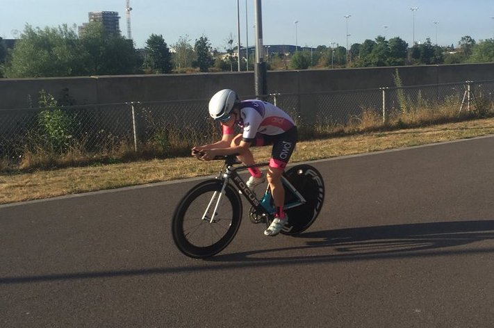 Connie Hayes - Tuesday 10 at Lee Valley Velopark