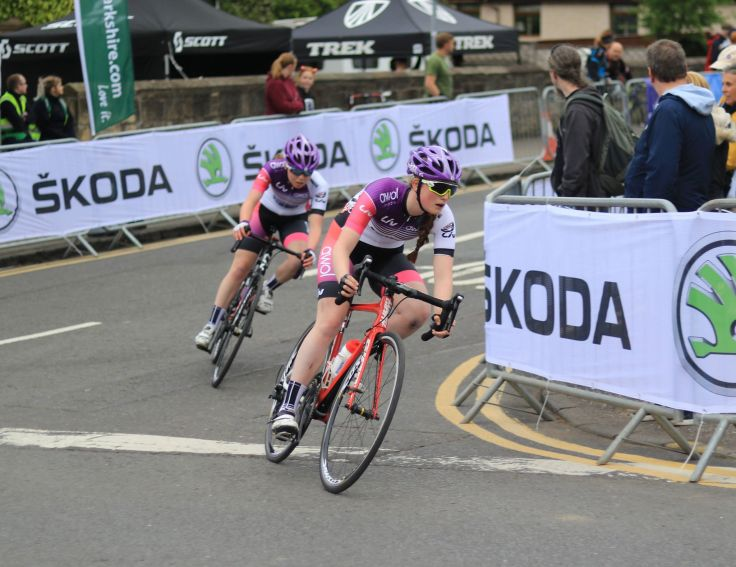 Elizabeth Marvelly - OVO Energy Tour Series 2018 Motherwell (photo: Chris Kelly)