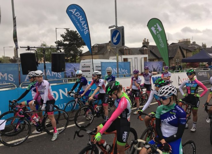 A very happy Elizabeth Marvelly - OVO Energy Tour Series 2018 Motherwell