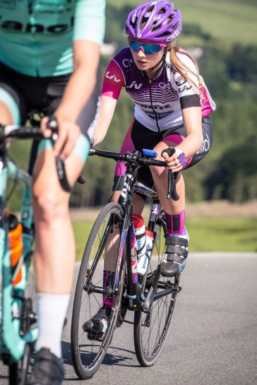 Hannah Bayes - Tour of the Reservoir 2018 (photo: Huw Williams)
