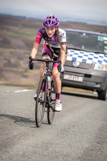 Lauren Higham - Tour of the Reservoir 2018 (photo: Huw Williams)