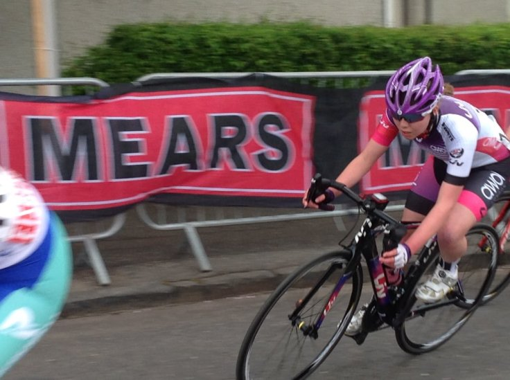 Zoe Brookes - OVO Energy Tour Series 2018 Motherwell (photo: Pip Brookes)