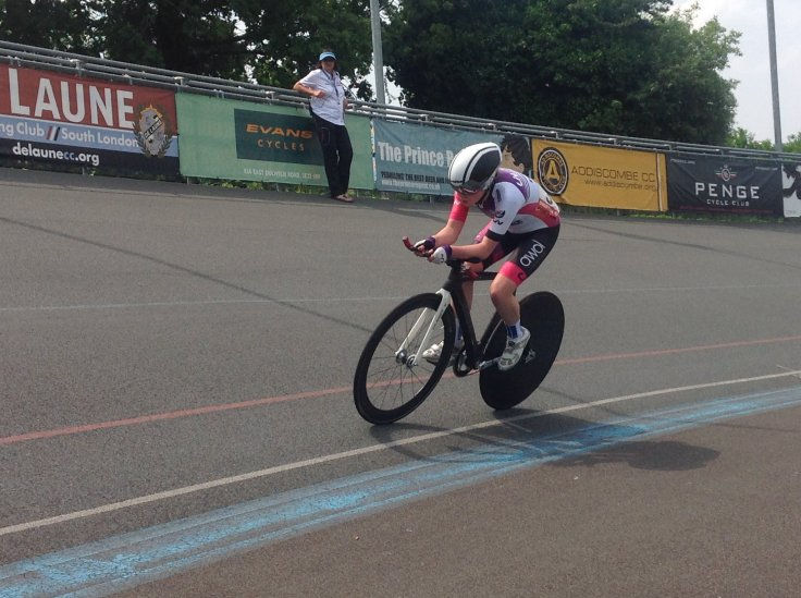 Zoe Brookes - Womens National Omnium 2018 Herne Hill