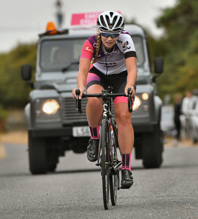 Clover Murray - Rapha CC Road Race 2018 (photo - John Orbea)