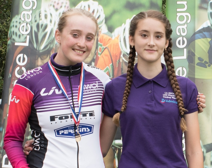Elizabeth Marvelly and Lauren Higham - South East/Eastern Championships (photo: Simon Blackwell)