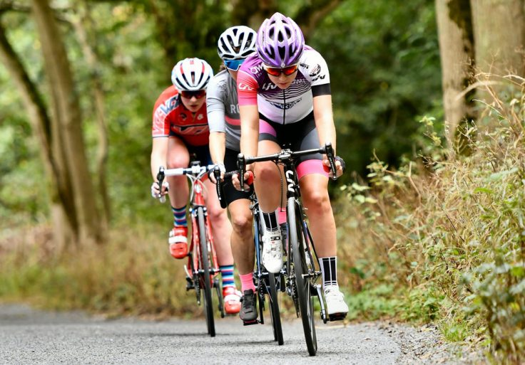 Hannah Graveney - Rapha CC Road Race 2018 (photo - John Orbea)