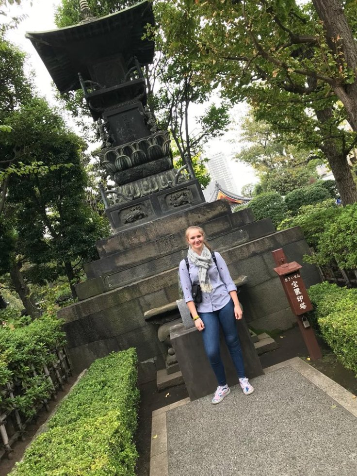 Charlotte McGreevy - recovery time in Japan
