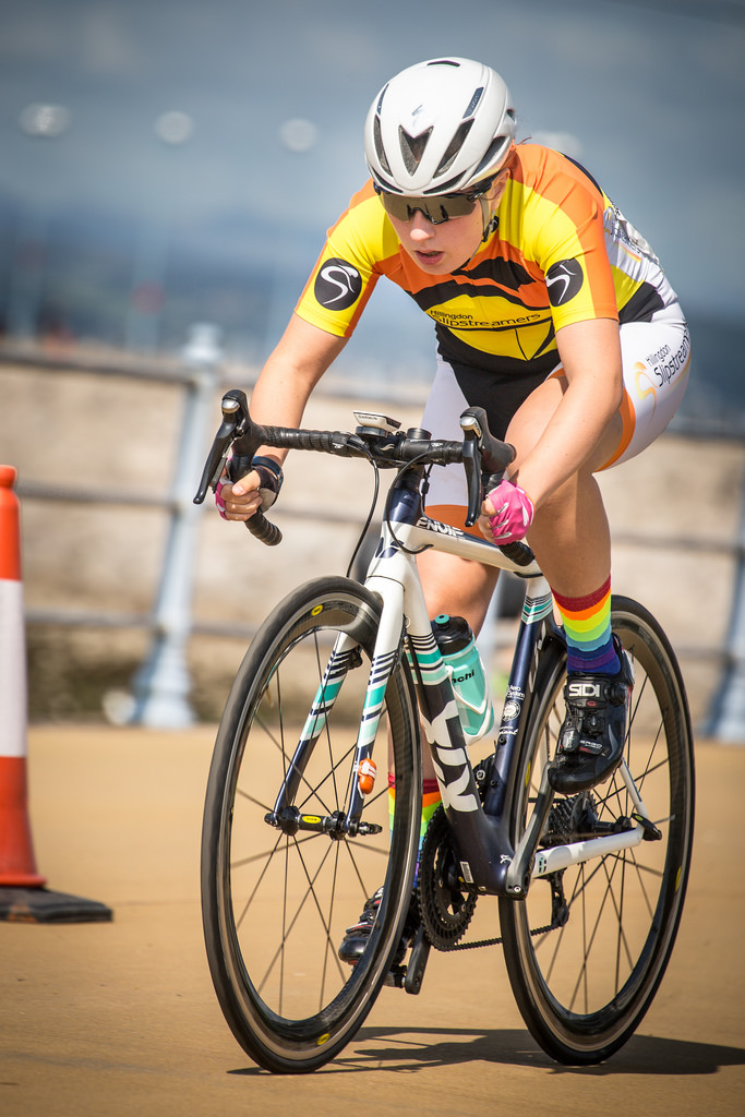 Eva Callinan with Hillingdon Slipstreamers - North West Youth Tour 2018 (photo - © Huw Williams)