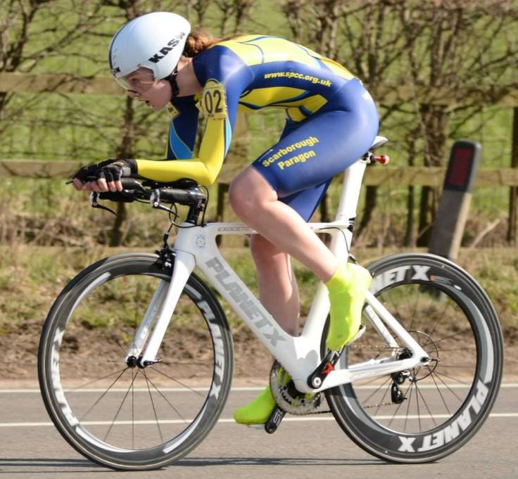 Louise Scupham - winner of National Circuit TT Championships 2015