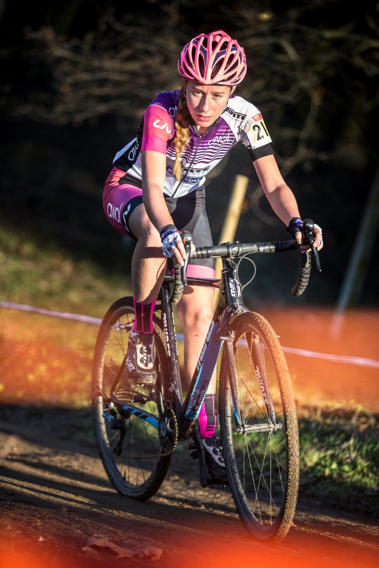 Bethany Barnett at National CX Ipswich (photo © Huw Williams)