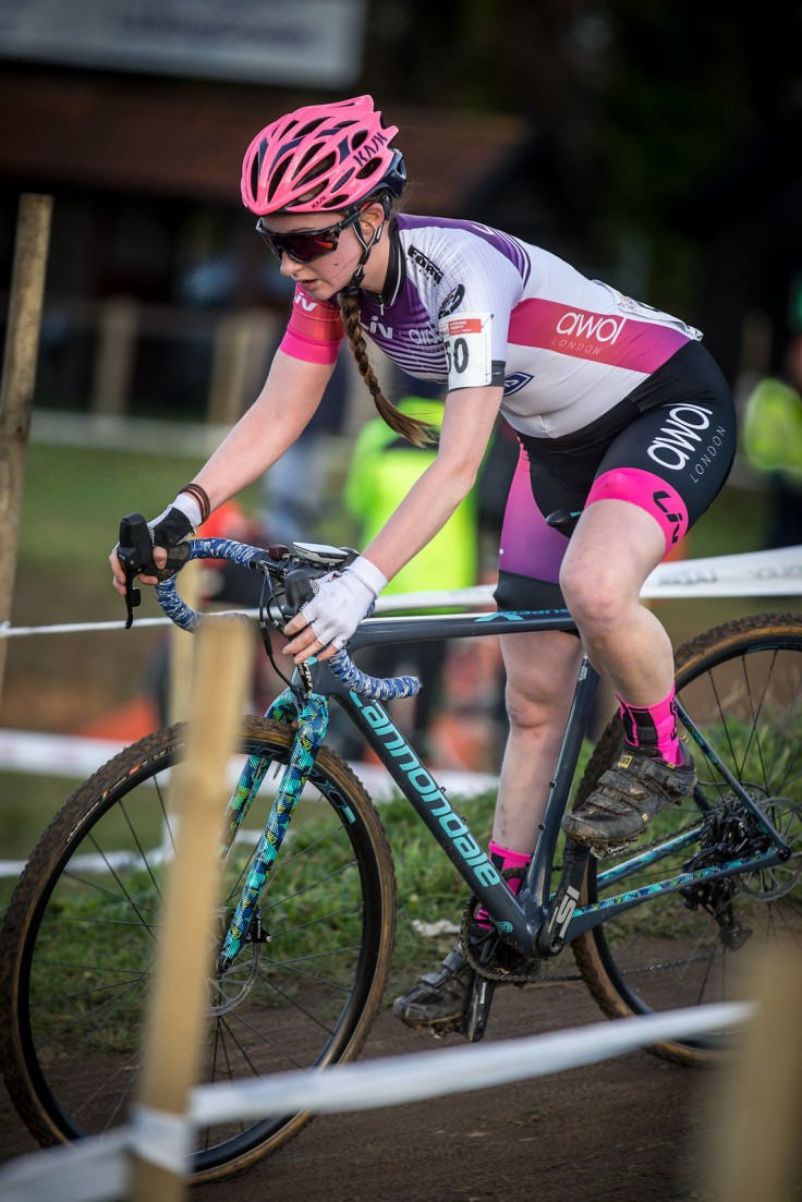 Emily Bridson at National CX Ipswich (photo © Huw Williams)
