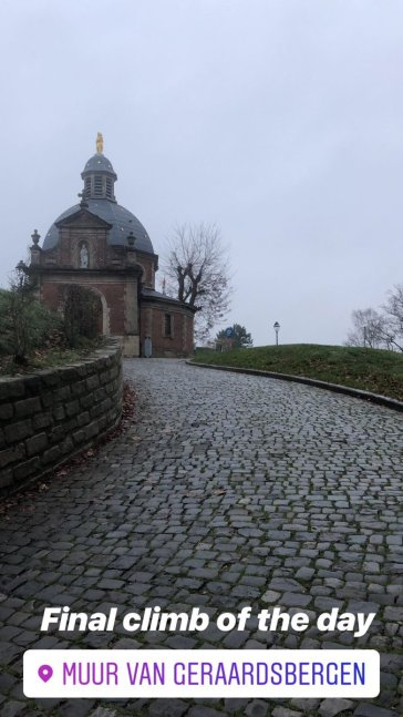 Final Belgium cobbles for Maddie Gammons