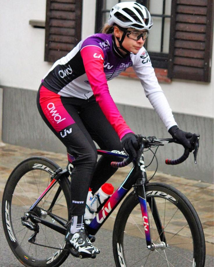 Charlotte Broughton in Belgium (photo © Franky Crosserke Schoonvliet)